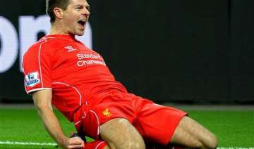 gerrard gives liverpool 2 1 fa cup win at...