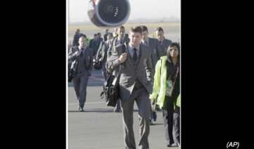 england squad arrives in south africa for world...