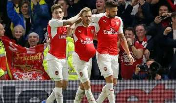 arsenal s hopes still alive after 2 0 cl win over...