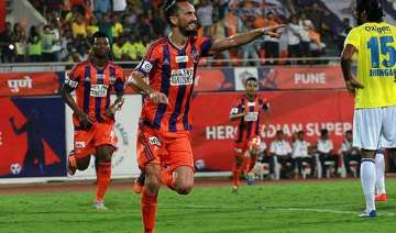 isl pune city beat kerala blasters 3 2 move to...