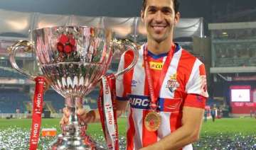 luis garcia waiting to don atletico de kolkata...