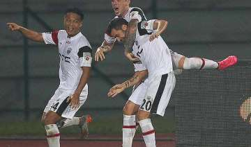 isl northeast beat chennaiyin 2 0 in ill tempered...