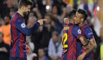barcelona madrid face tough away games in spanish...