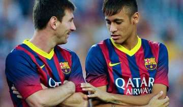 neymar attributes good form to friend messi -...