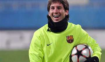 injured messi misses spanish league game - India...