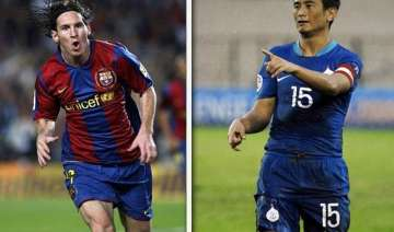 lionel messi dazzled kolkata bhutia retired in...