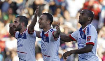 lyon beats marseille 4 1 in french league - India...