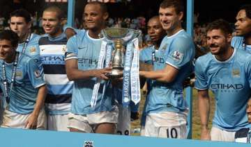 manchester city win barclays asia trophy - India...