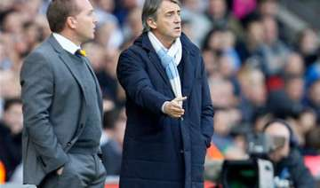 mancini needs strikers to fire at arsenal - India...