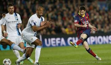 messi guides barca past city into champs - India...