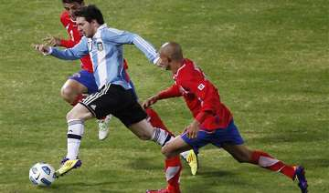 messi shines for argentina - India TV