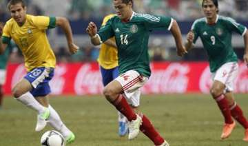 mexico beats brazil 2 0 in qualifying warm up -...
