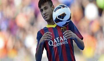 neymar signs 5 year contract with barcelona -...