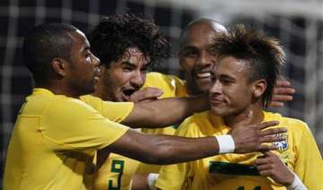 neymar pair helps brazil into quarterfinals -...