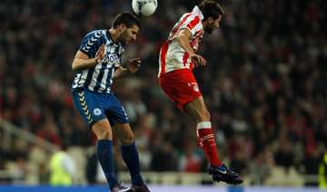 olympiakos wins greek cup final in extra time -...