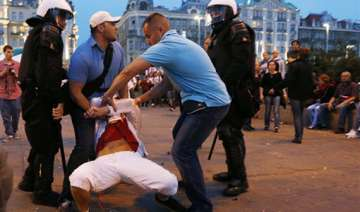 polish police ready for more trouble at euro 2012...