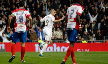 real madrid routs granada 5 1 in spain - India TV