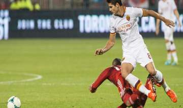 roma eases past toronto fc 4 1 - India TV