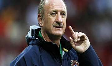 scolari rules out changes for brazil france...