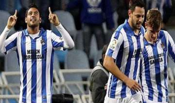sociedad s 4th place hopes hit by 3 2 loss to...
