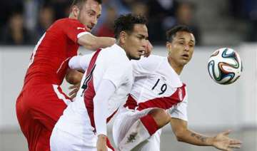 switzerland beats peru 2 0 in last world cup warm...