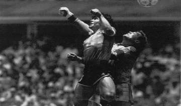 this day that year maradona s hand of god against...