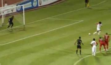 uae player in trouble for backheeled penalty -...