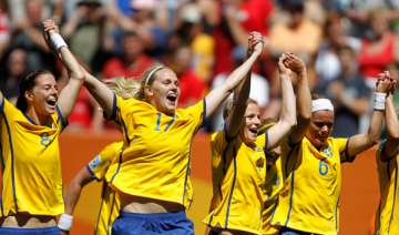 us sweden enter women s world cup semis - India TV