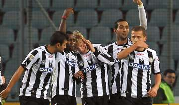 udinese faces serie a leader juventus - India TV