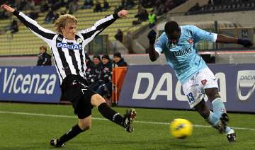 udinese tops serie a after beating chievo 2 1 -...