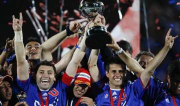universidad de chile wins copa sudamericana final...