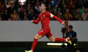 world cup playoff ronaldo portugal await draw -...