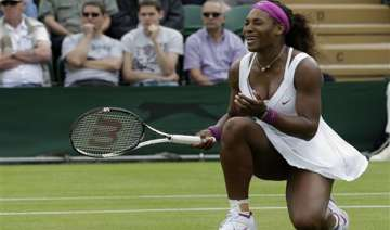 a day later other williams wins at wimbledon -...