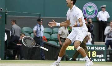 djokovic makes it to wimbledon final gets no. 1...