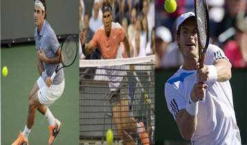 federer nadal murray advance at indian wells. -...