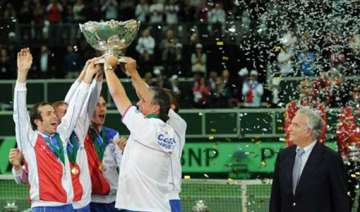 historic davis cup win for czech republic - India...