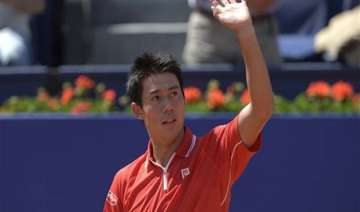 nishikori beats giraldo to reach barcelona open...