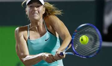 sharapova pulls out of russia fed cup clash with...