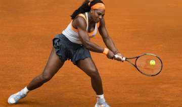 williams sharapova both lose in madrid open...