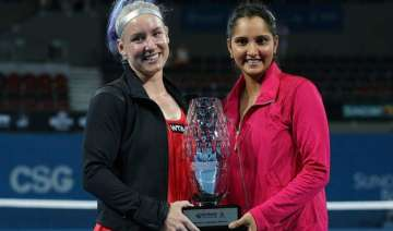 sania wins 1st title of season with bethanie -...