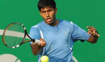 bopanna mergea crosses first round hurdle at...