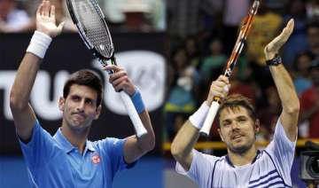 australian open djokovic wawrinka advance to 2nd...