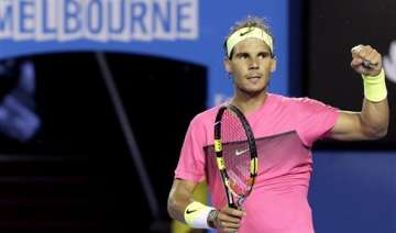 australian open 2015 rafael nadal through to...