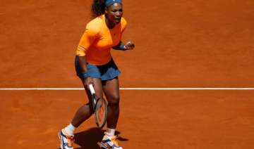 serena williams eases into second round in madrid...