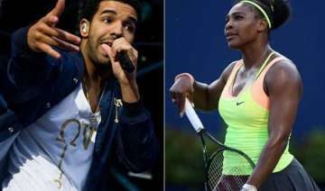 serena williams spotted kissing rapper drake in...