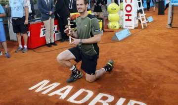 murray beats nadal 6 3 6 2 to win the madrid open...