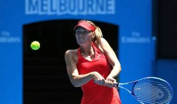 australian open 2015 no. 2 sharapova saves 2...