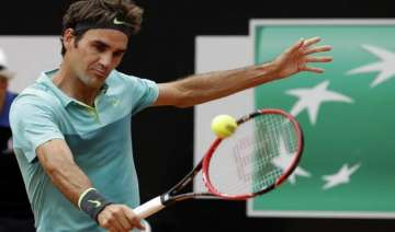 federer beats berdych to reach italian open...