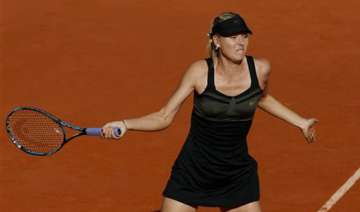 maria sharapova makes french open final - India TV