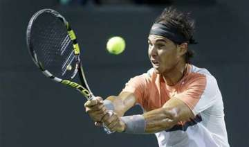 nadal rolls into 3rd round at sony open - India TV